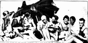 Newcastle ukulele beach 1931